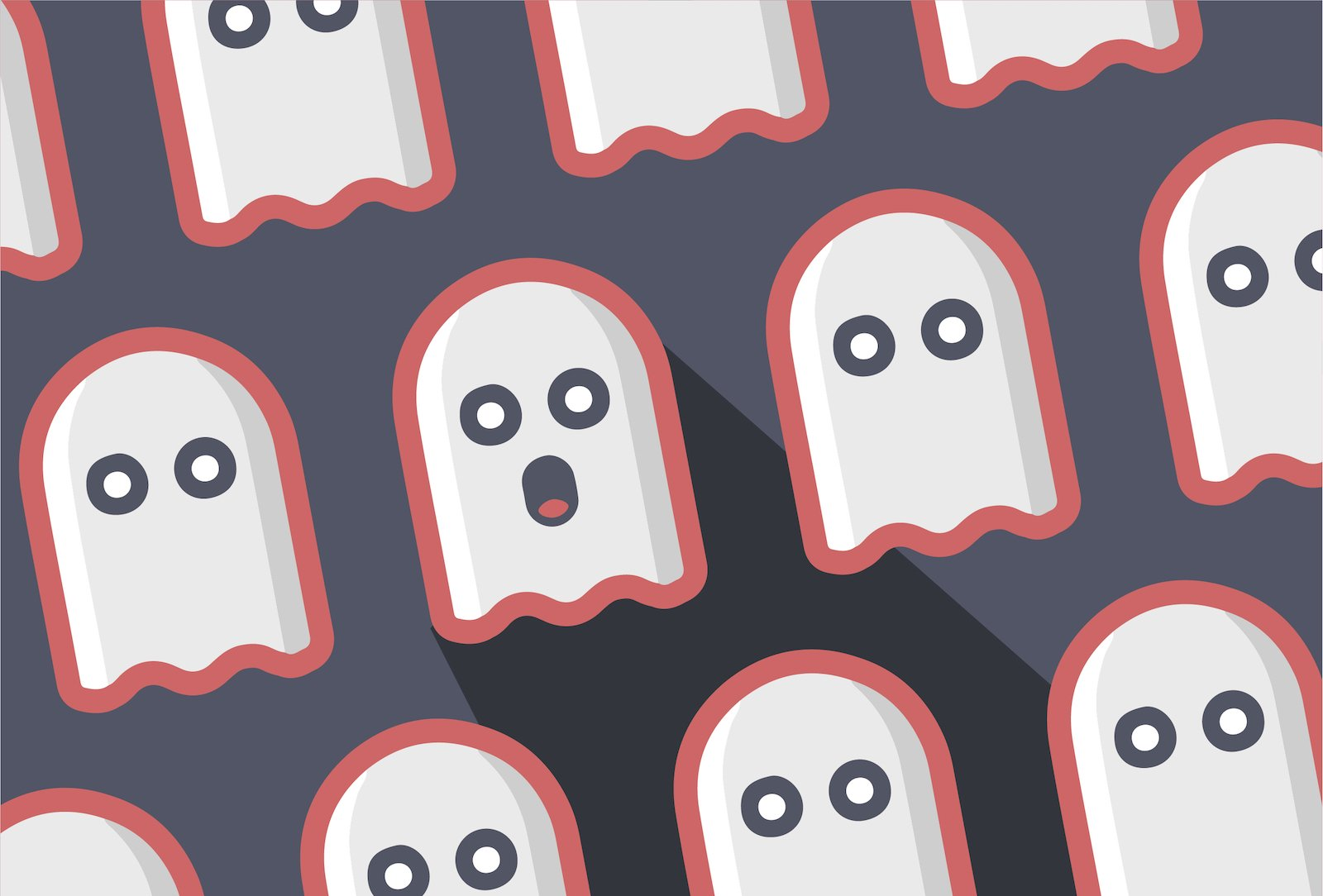ghosting candidates
