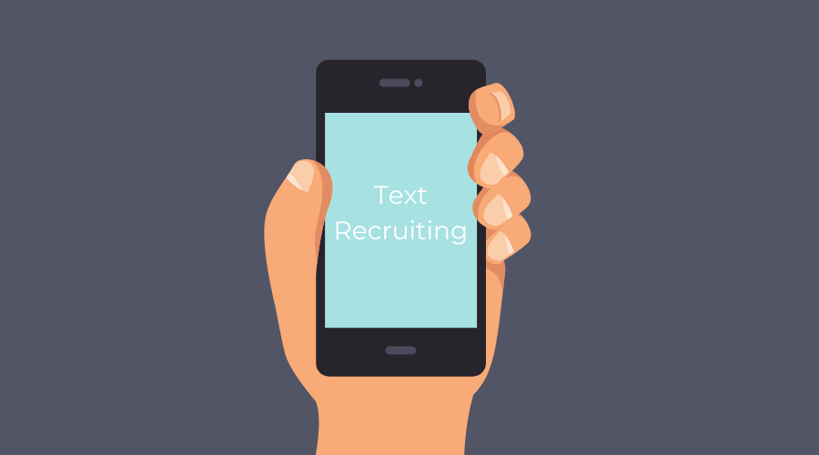 text recruiting