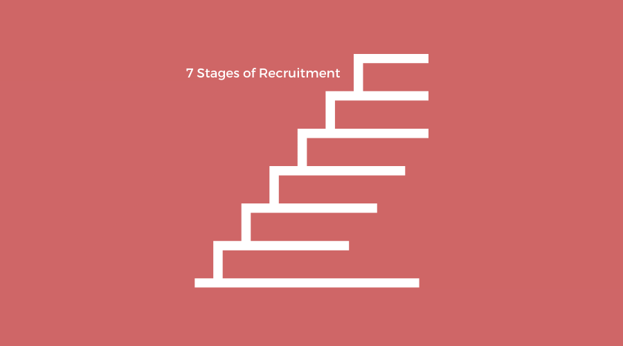 what are the 7 stages of recruitment