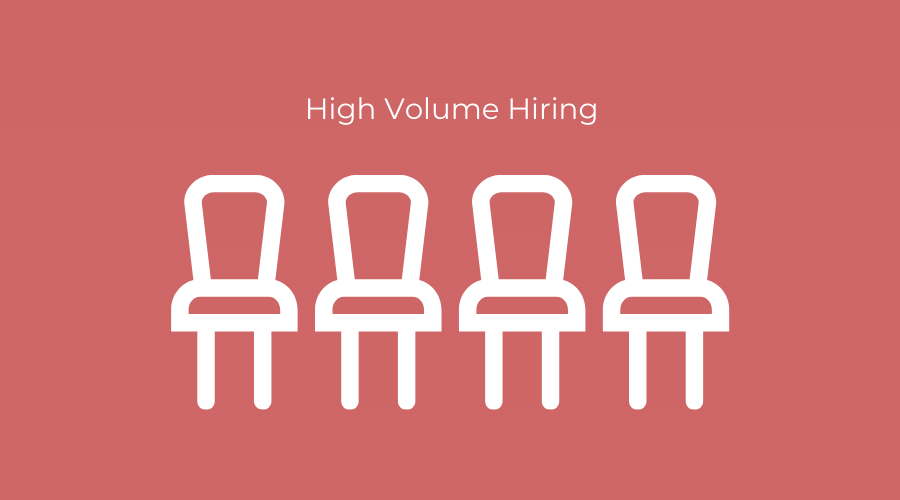 high volume hiring