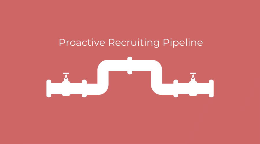 proactive recruiting pipeline