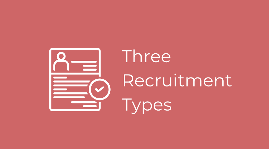 3 recruitment types