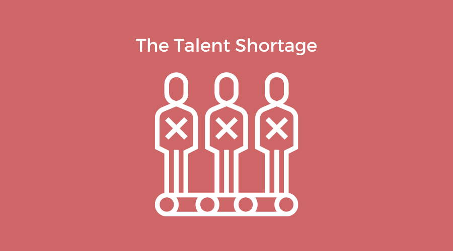 the talent shortage